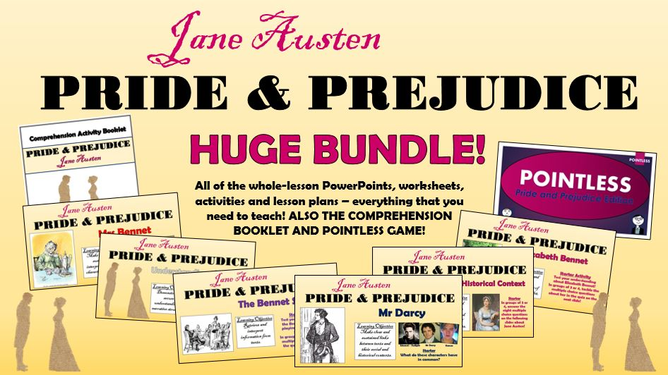 Pride and Prejudice Huge Bundle!