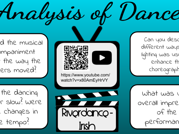 Analysis of Dance