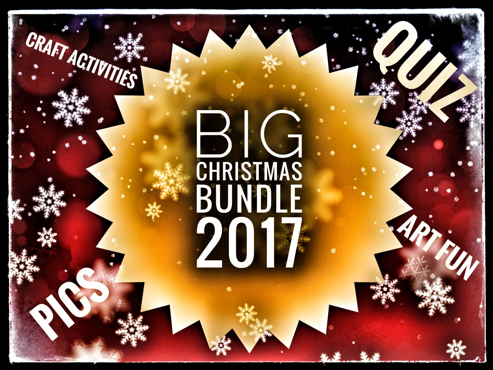 CHRISTMAS FUN ACTIVITIES 2017