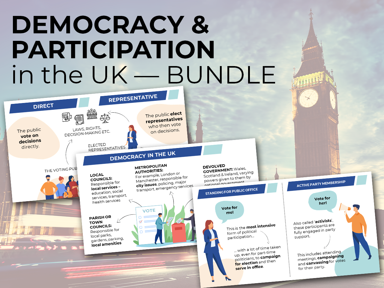 Democracy & Participation in the UK - Edexcel A Level Politics