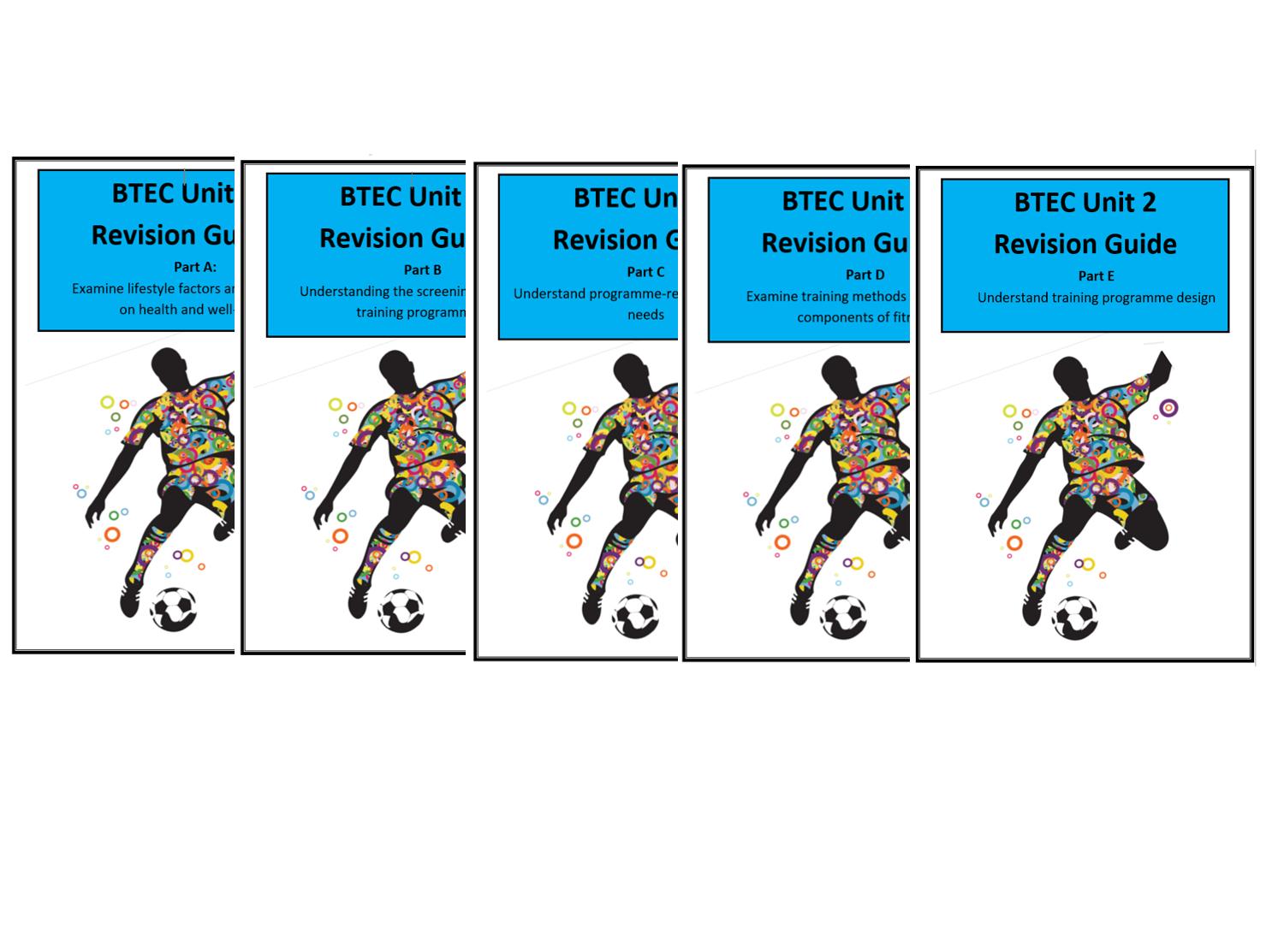 BTEC Sport L3 - Unit 2 Complete Revison notes/guides