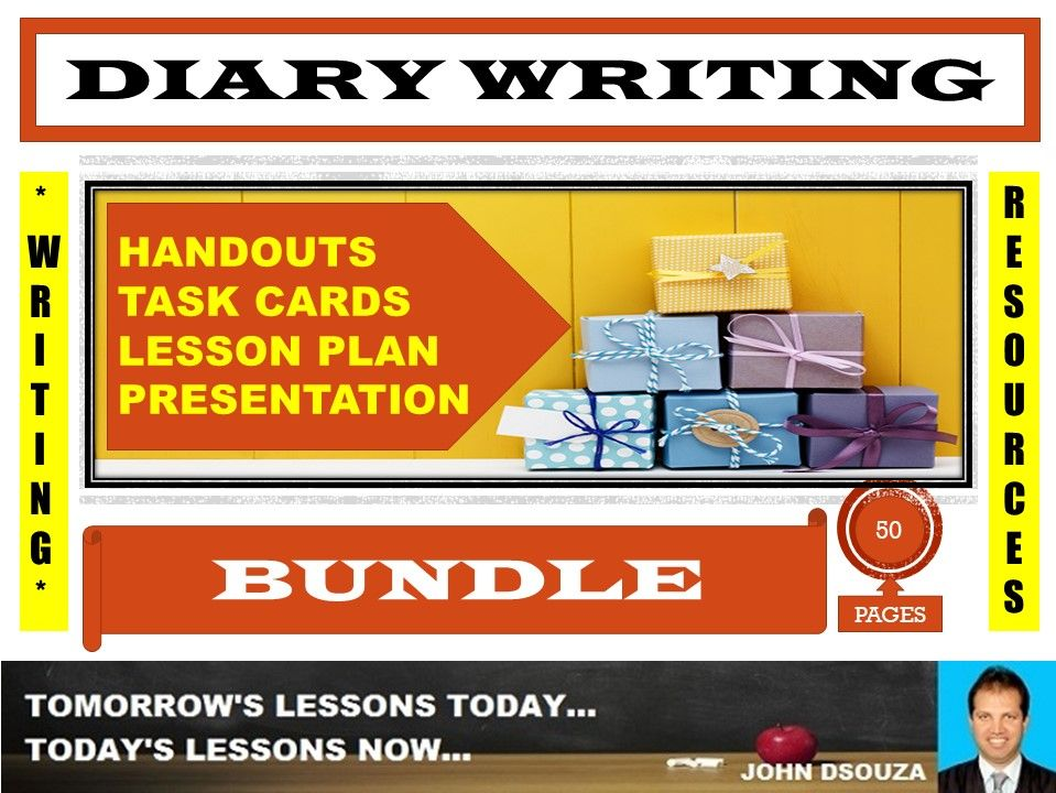 DIARY WRITING BUNDLE