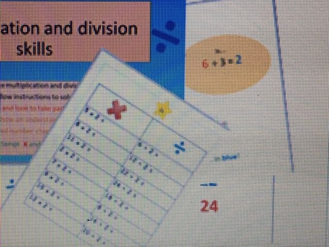 fantastic multiplication and division easy method 2,3,5,and 10s editable
