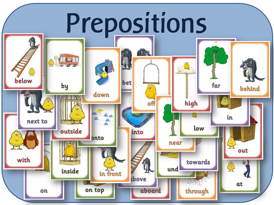 EYFS / SEND Prepositions posters