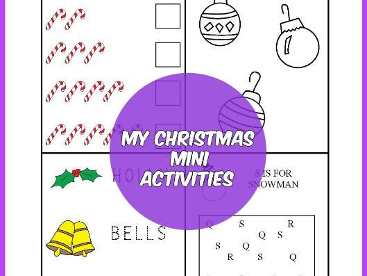 CHRISTMAS MINI ACTIVITIES