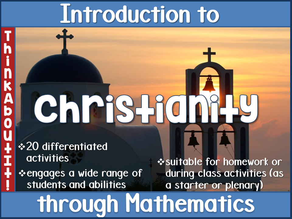 Christianity: Introduction to Christianity through Mathematics