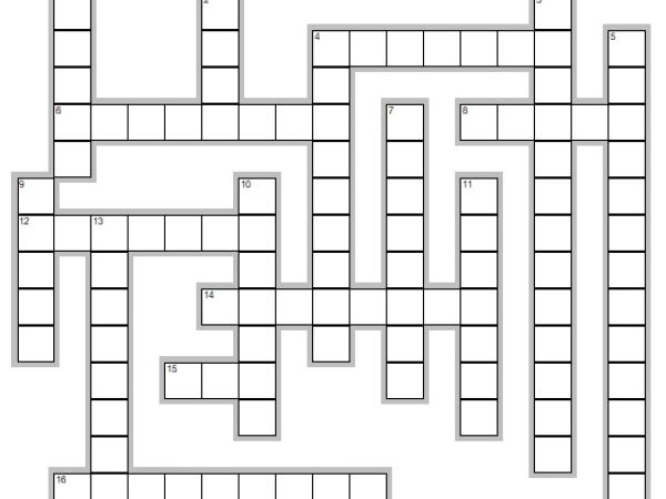 Crossword on the Personal Life Approach