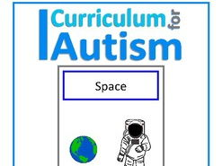 Finish The Sentences Interactive Book- Space, Autism, Special Education, SEND, Science