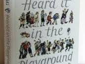 4 poetry resources based on the poems in Allan Ahlberg's book, 'Heard it in the Playground'