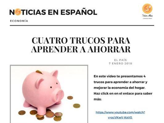 Noticias en español - Economía - B1 / B2 / C1 / C2 (DELE) (news in Spanish)