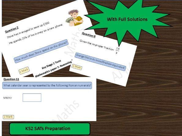 KS2 SATs Maths Paper 2 Reasoning