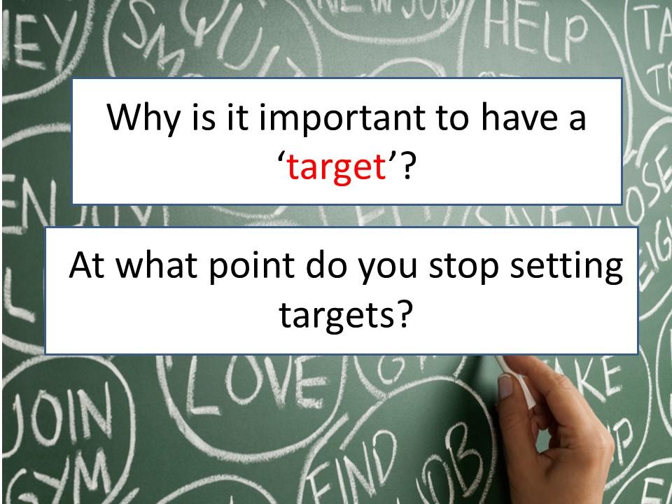 PSHE- Target Setting