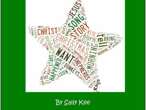 Song and Rhyme at Christmas Time (A Simple Christmas Nativity)