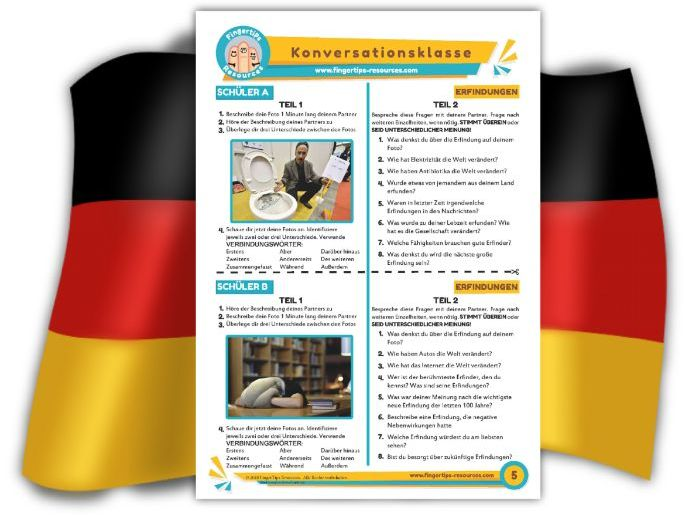Erfindungen - German Speaking Activity