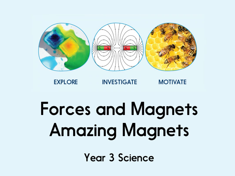 Forces and Magnets - Amazing Magnets - Year 3