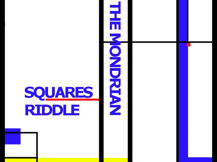 The Mondrian Squares Puzzle