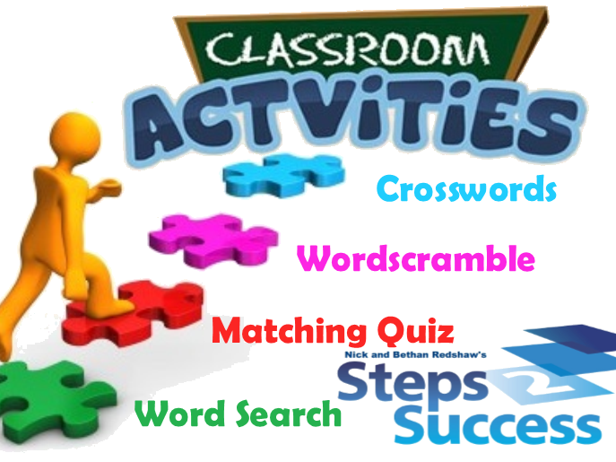 Classroom Activity (Bundle) - Research Methods Week 1 (Lesson 1) AFL, Crossword, Games and Puzzles Pack