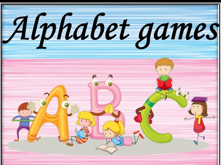 Alphabet games. Bundle.