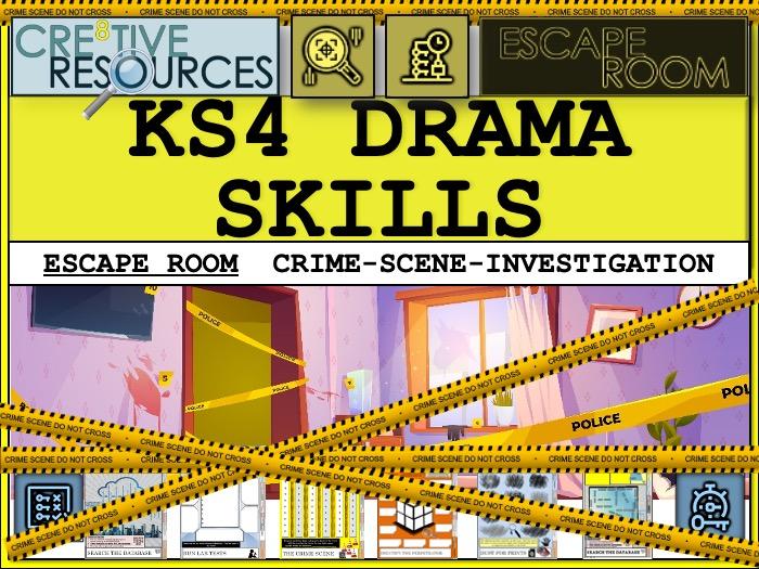 KS4 Drama Skills Revision