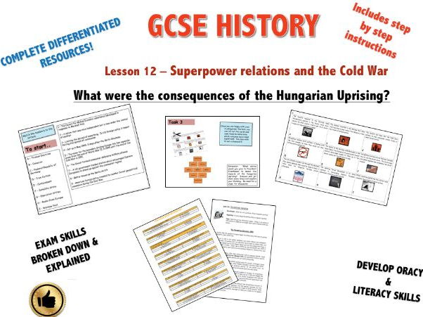 Edexcel Superpower Relations & Cold War L12 What were the consequences of the Hungarian Uprising?