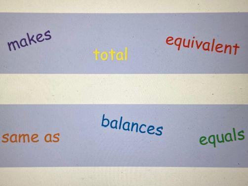 Maths Vocabulary - Operations