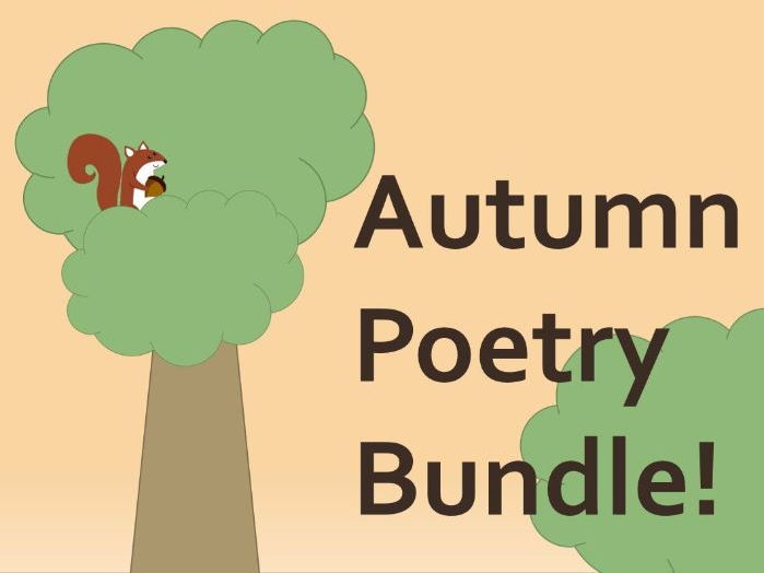 Autumn Poetry Bundle