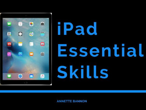 IPad Powerpoint Presentation and E-Book with Lesson Plan and notes