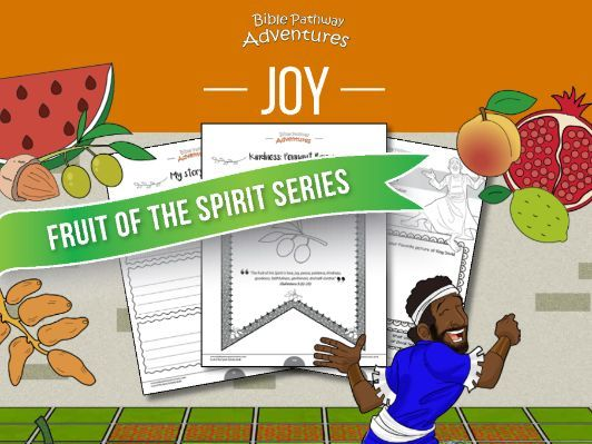 Joy: Fruit of the Spirit Activity Book & Lesson Plan