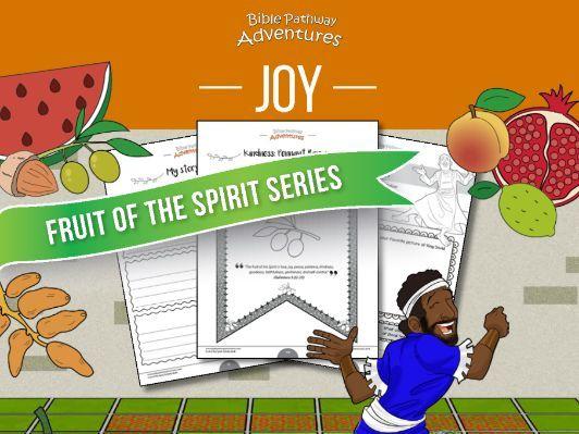 Joy: Fruit of the Spirit Activity Book & Lesson Plan