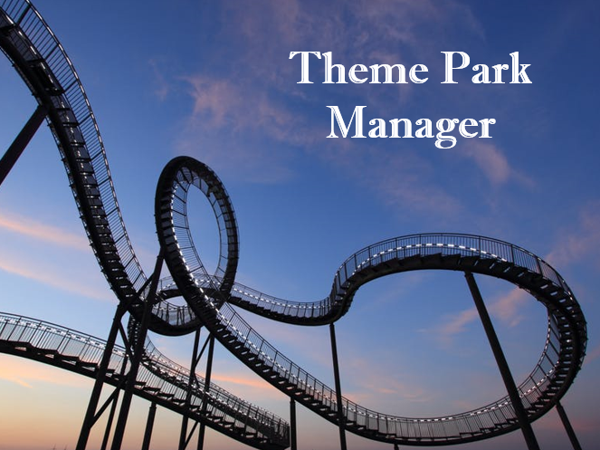 Theme Park Manager percentages game (full lesson)