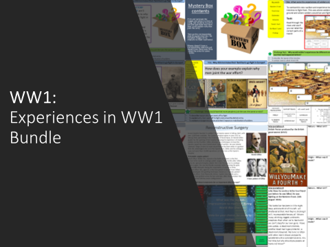 WW1: Experiences in the war