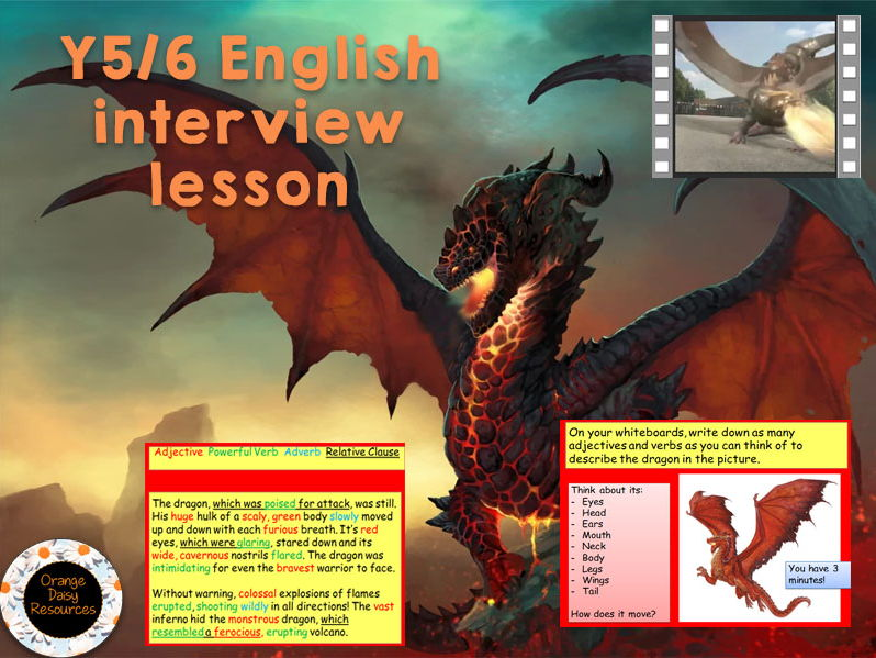 Outstanding Y5/6 English Interview Lesson - Relative Clauses