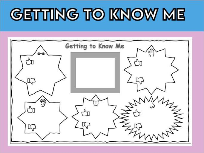 Getting to Know Me Template
