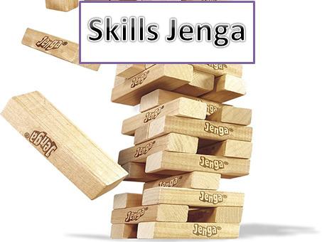 Help students identify there own skills and qualities in this fun Jenga game.