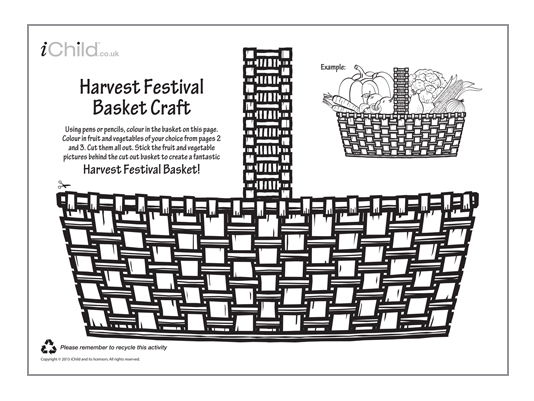 Harvest Festival Basket Craft