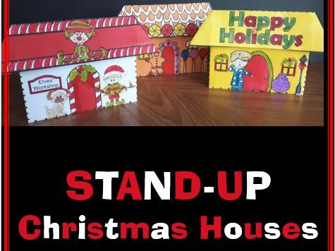 STAND-UP Christmas Houses