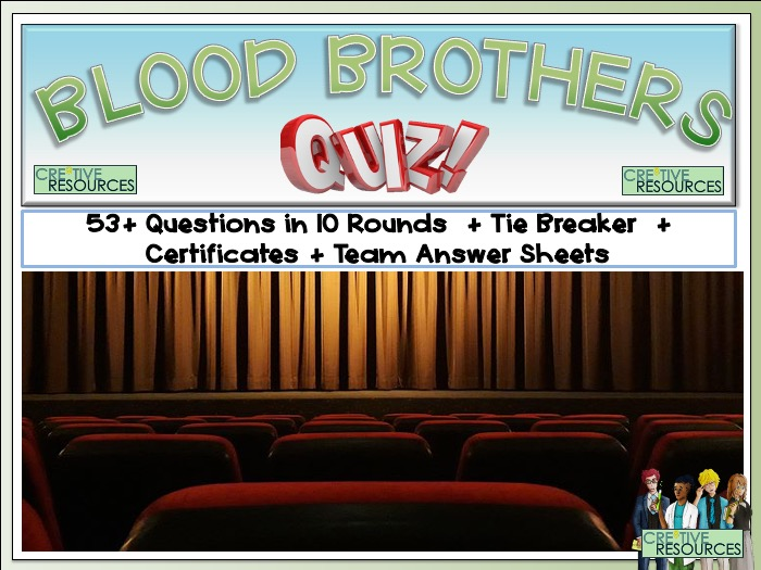 Blood Brothers V1 Quiz