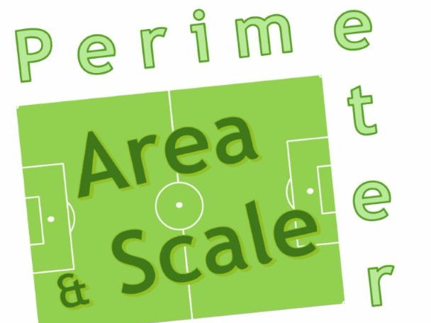 L2 Maths Area, Perimeter and Scale Football Pitch Challenge
