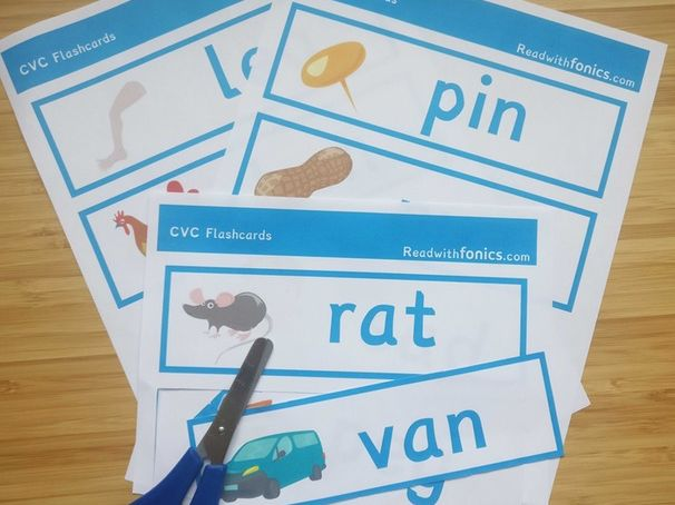 Phonics CVC Flashcards | Phonics Resources | EYFS | Year 1 | 10 Pages