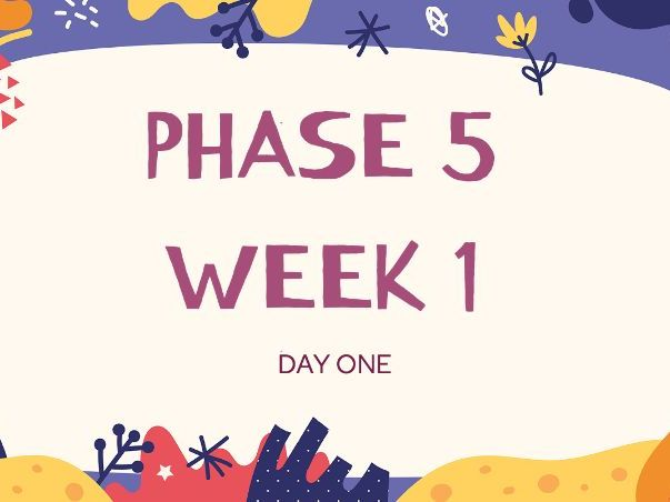 Phonics Phase 5 ai ay