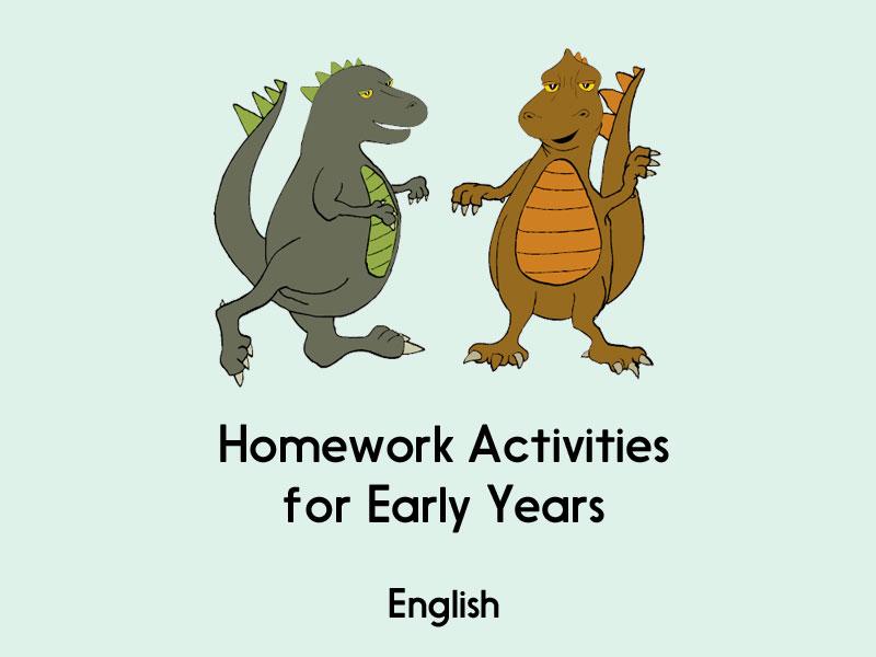 English Homework - Early Years