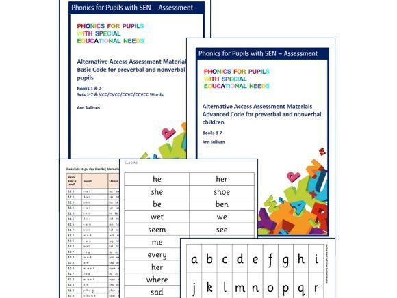 Alternative Access Basic & Advanced Code Testing & Assessment (pre- & nonverbal) - Phonics for SEN