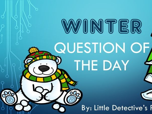 Winter Question of the Day