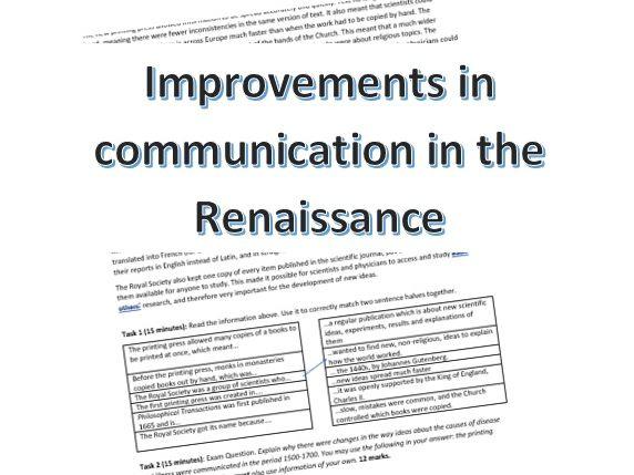 Renaissance Communications: info & activity
