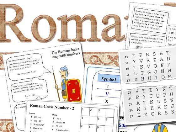 Teaching Roman Numerals