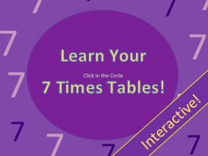 Learn Your 7 Times Table