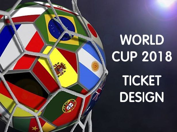 World Cup Ticket Design