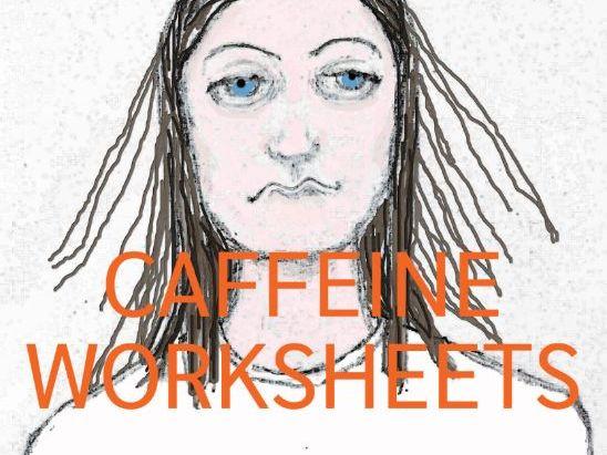 Caffeine Worksheets (Healthy Eating PSHE)