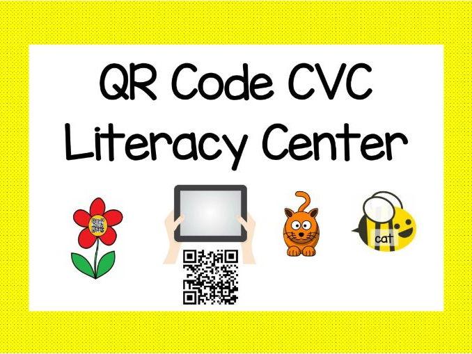 QR Code CVC Literacy Center