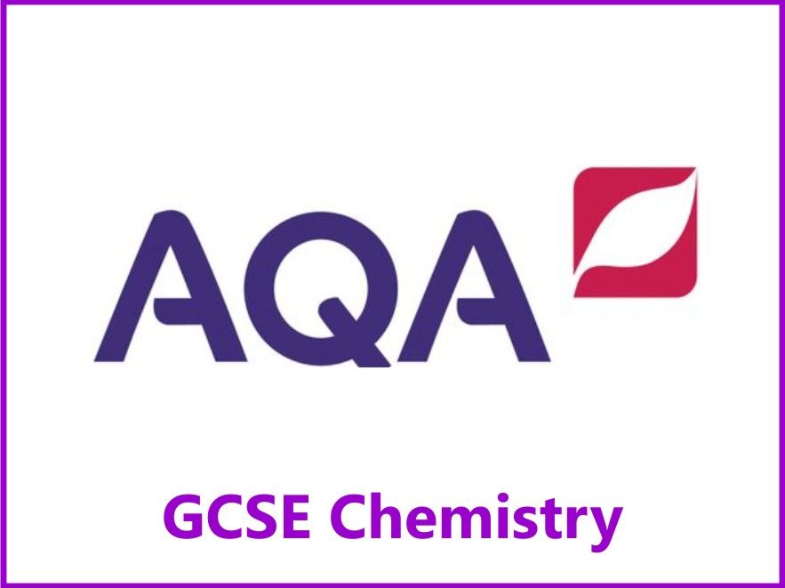 AQA Chemistry GCSE Grades 4, 6 & 8 Revision Checklists Papers One & Two
